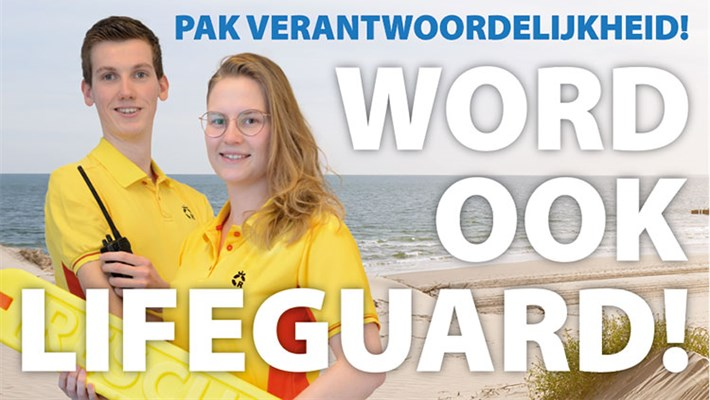 'Word ook lifeguard!'